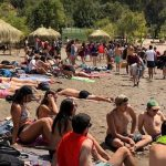 Colbún inaugurá proyecto comunitario con playa, quinchos y juegos infantiles en Balneario Machicura