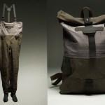 Patagonia transforma antiguos waders de pesca en innovadoras mochilas recicladas