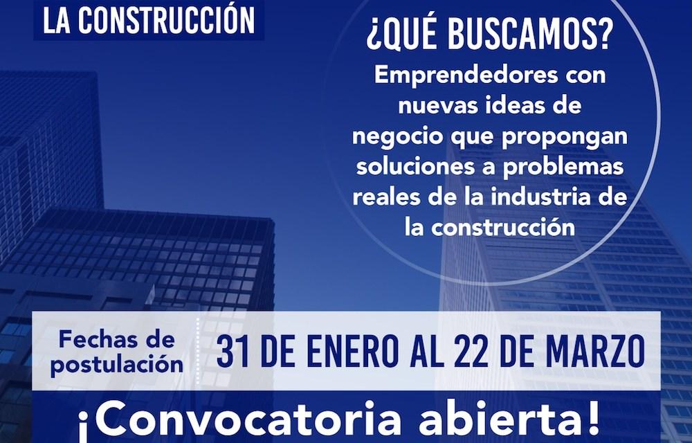 """""""Digitalizar la Construcción"""": Iniciativa que invita a emprendedores para innovar en construcción"""
