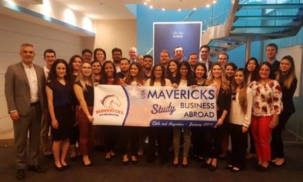 Alumnos de Estados Unidos aprenden sobre el impacto de la tecnología en las empresas chilenas
