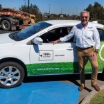 Auto eléctrico BYD e5 viaja entre Santiago y Concepción con Eliseo Salazar al volante