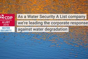 Diageo es nombrada líder mundial en desempeño ambiental