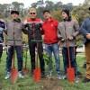 Pilotos de Rally se suman al cuidado medioambiental con plantación de árboles