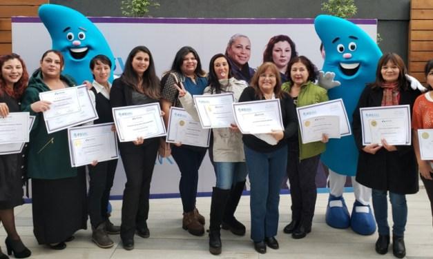 Esval certifica a la tercera generación de Mujeres Gásfiter