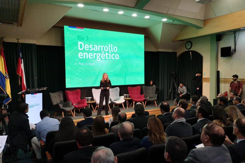 Ministra de Energía destaca en la Cuenta Pública el rápido crecimiento de las energías renovables y la electromovilidad