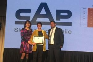"""Grupo CAP obtiene primer lugar en categoría """"Holding Empresarial"""" en Merco Talento por sus avances en la gestión y retención de talento"""