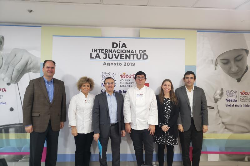 Nestlé expande globalmente programa que capacita a jóvenes talentos de la cocina
