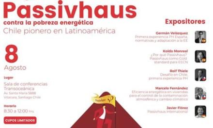 "Evento 8/08 – 8:30 a 12: 30 – ""Estrategia PassivHaus contra la pobreza energética""."