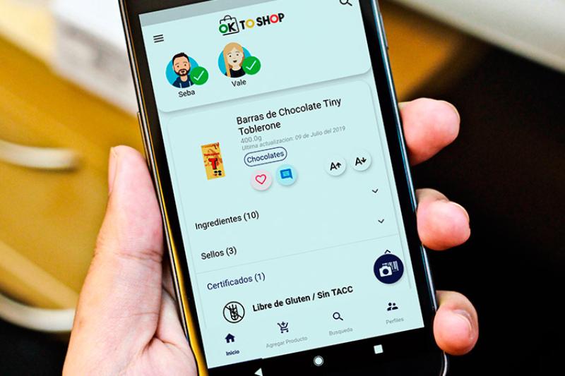 Lanzan OK to Shop, una app que hará match con tus preferencias o restricciones alimentarias