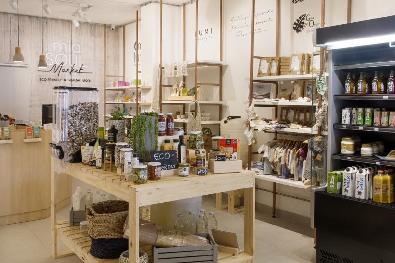 Con más de 150 productos 100% ecofriendly abre Mia Soul Market