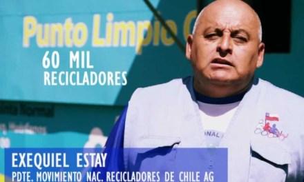 Movimiento Nacional de Recicladores de Chile lamenta muerte del histórico dirigente Exequiel Estay