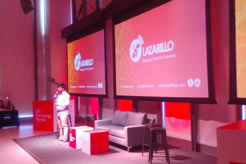 Lazarillo APP es reconocido como uno de los mejores emprendimientos de Latinoamérica
