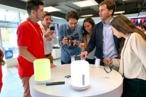 WOM y CORFO inauguran el primer laboratorio 5G en Chile
