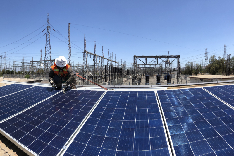 Transelec certifica origen renovable de energía en cuatro subestaciones con tecnología blockchain