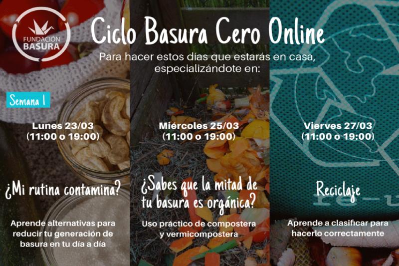 Lanzamiento «Ciclo Basura Cero Online» de Fundación Basura