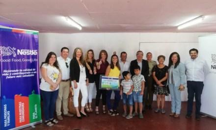 Nestlé premia proyectos de 9 comunas relacionados a Nutrición, Desarrollo Rural, Agua y Medio Ambiente.