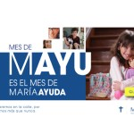 """Mes de Mayu: súmate a la Colecta Nacional de """"María Ayuda"""" que se realizará de manera digital"""