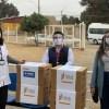 USM y BASF Chile donan cientos de protectores faciales a establecimientos de salud de Valparaíso