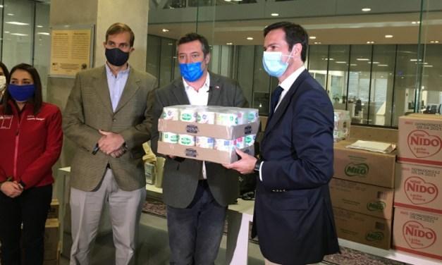 Nestlé Chile entrega cerca de 150.000 kilos de alimentos como aporte en medio de la pandemia