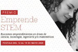 Se abren postulaciones al Premio Emprende STEM de Mujeres Empresarias