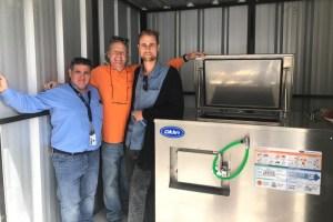 Chilenos apuestan por máquina para la gestión de desperdicios de alimentos única en el mundo