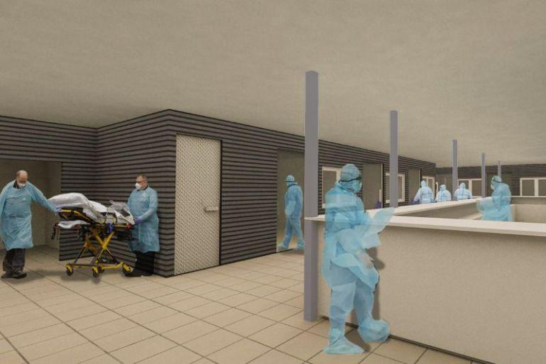 Chile podría contar con módulos hospitalarios equipados y climatizados de alto nivel constructivo