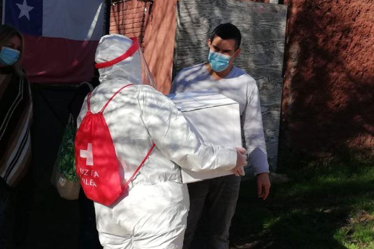 Nestlé y Cruz Roja Chilena distribuyeron ayuda humanitaria a comunidades en situación vulnerable de San Fernando