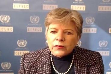 Alicia Bárcena, Secretaria Ejecutiva de la CEPAL: Es crucial plantear un pacto social basado en un diálogo amplio y participativo para enfrentar la contingencia y repensar la reactivación post COVID-19