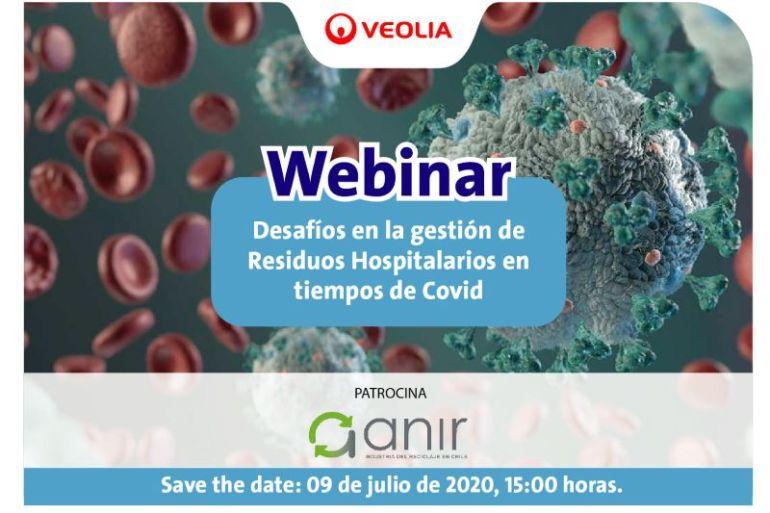 """Webinar """"Desafíos en la gestión de Residuos Hospitalarios en tiempos de Covid"""""""