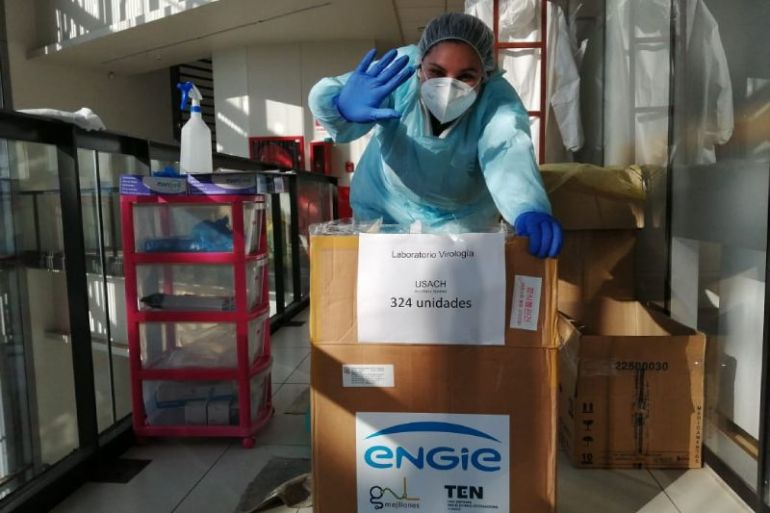 ENGIE hace entrega de 3 mil test rápidos al Ministerio Ciencia para apoyar laboratorios universitarios de diagnóstico Covid-19