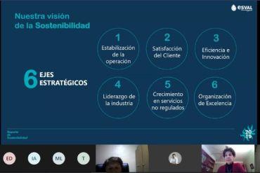 Esval presenta nuevo Reporte de Sostenibilidad y reitera compromiso para enfrentar la sequía