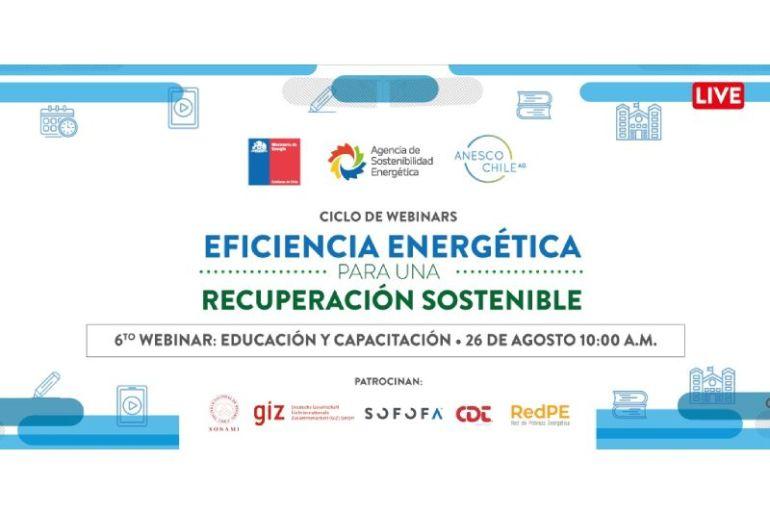 Webinar: eficiencia energética para una reactivación sostenible