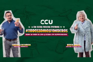 CCU y fonderos hacen un llamado a celebrar Fiestas Patrias en casa