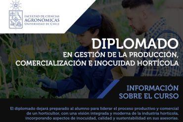 Se inicia proceso de postulación para Diplomado en Inocuidad Hortícola