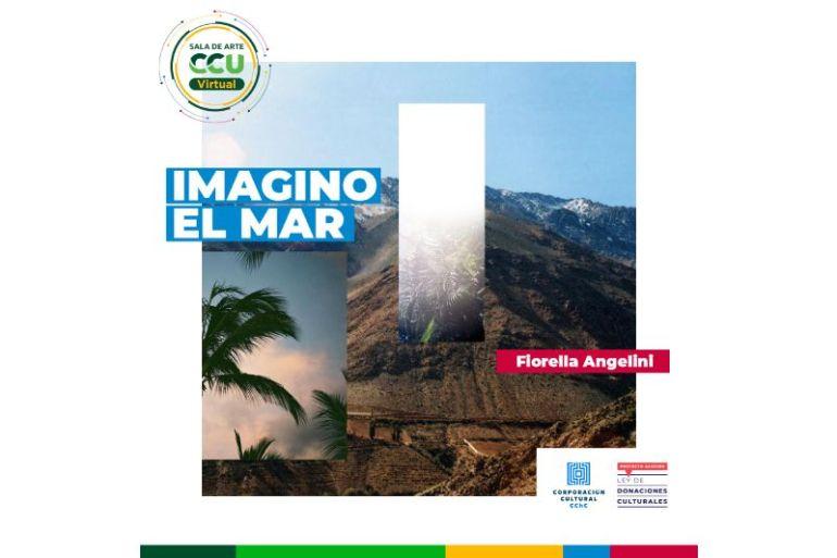 """Sala de Arte CCU virtual presenta muestra fotográfica """"Imagino el Mar"""" de Fiorella Angelini"""