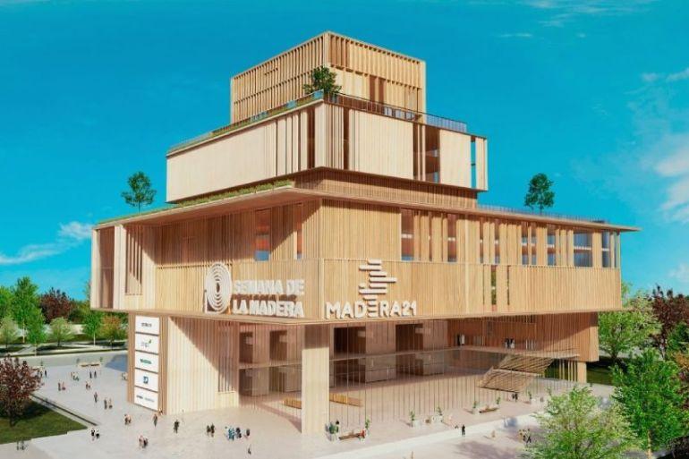 MINVU anuncia que se construirán edificios de madera en el país