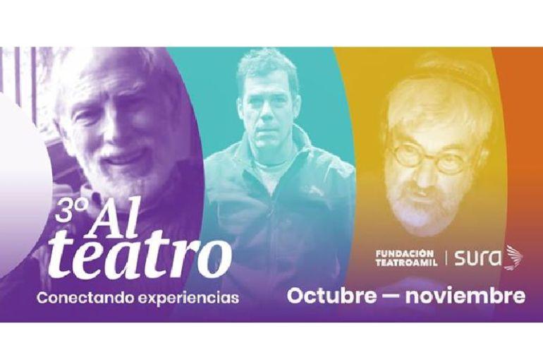 """""""Al Teatro"""": obras, radioteatros y talleres en línea para conmemorar el mes de las personas mayores"""