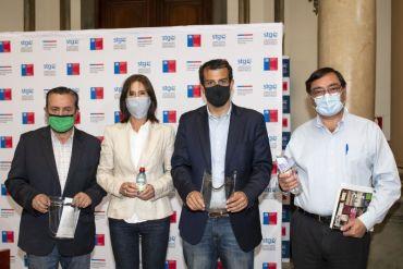 CCU entrega escudos faciales y alcohol gel para protección de funcionarios municipales