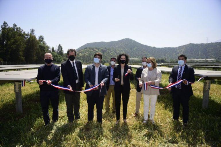 Greenvestment inaugura su primer proyecto de ERNC con planta solar en San Francisco de Mostazal