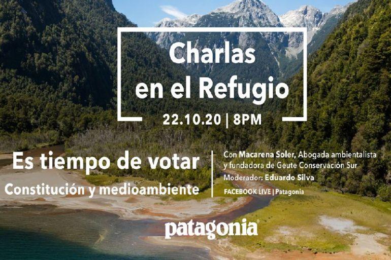 """Charla """"Constitución y Medio Ambiente"""": Patagonia invita a una mirada reflexiva en momentos cruciales"""