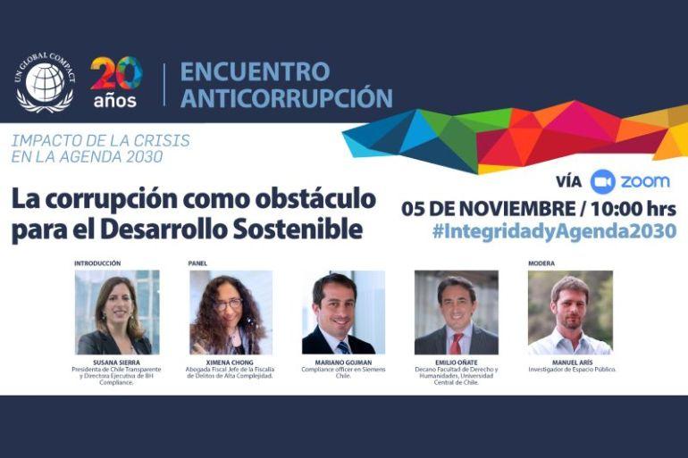 Pandemia y corrupción: uno de los graves flagelos que impiden avanzar hacia el desarrollo sostenible y la Agenda 2030