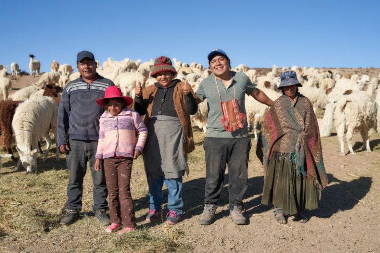 Donde comienza Chile: Visviri innova y avanza hacia la ganadería ecológica de llamas