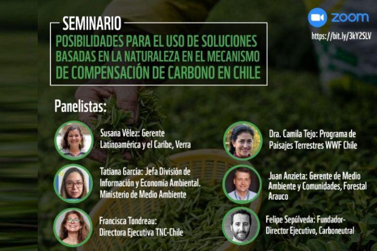 WWF Chile promoverá soluciones basadas en naturaleza y restauración de paisajes en dos eventos virtuales esta semana