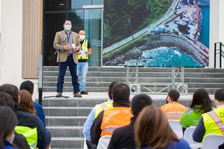 """Puerto San Antonio y terminales concesionados lanzan campaña de seguridad """"Embárcate en la Prevención"""""""