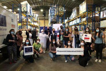 Movidos x Chile y la Unión Europea firman alianza de colaboración para apoyar a comunidades en situación de vulnerabilidad frente a la pandemia
