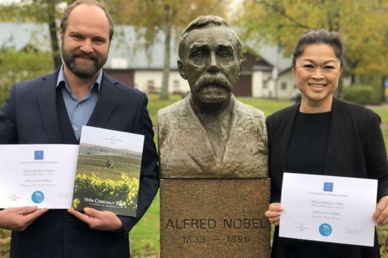 Reporte de Sustentabilidad de Viña Concha y Toro es elegido entre los tres mejores del mundo en los Hallbars Sustainability Reports Awards