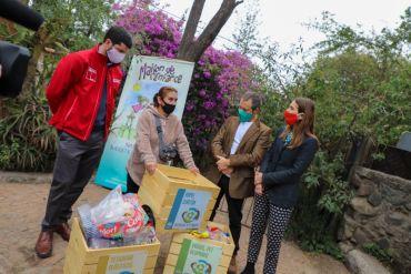 """Comunidad Ecológica de Peñalolén lanza oficialmente sistema """"Reciclaje a tu Puerta"""""""