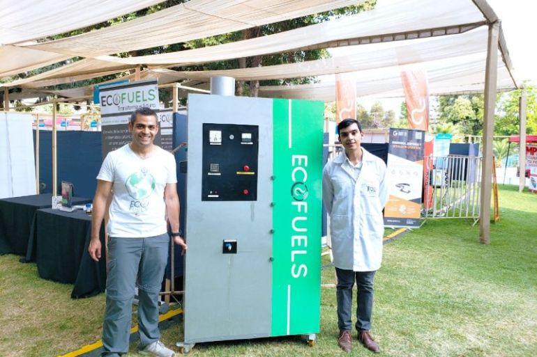 Tecnología que transforma el plástico en combustible gana premio ACTITUD 2020 de Fundación everis Chile