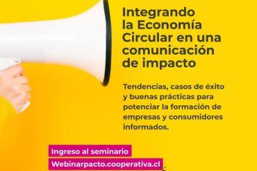 """Seminario Virtual """"Integrando la Economía Circular en una Comunicación de Impacto"""""""