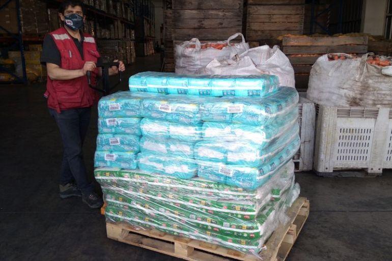 Kimberly-Clark dona más de 170 mil productos a través de Red de Alimentos y la Cruz Roja Chilena